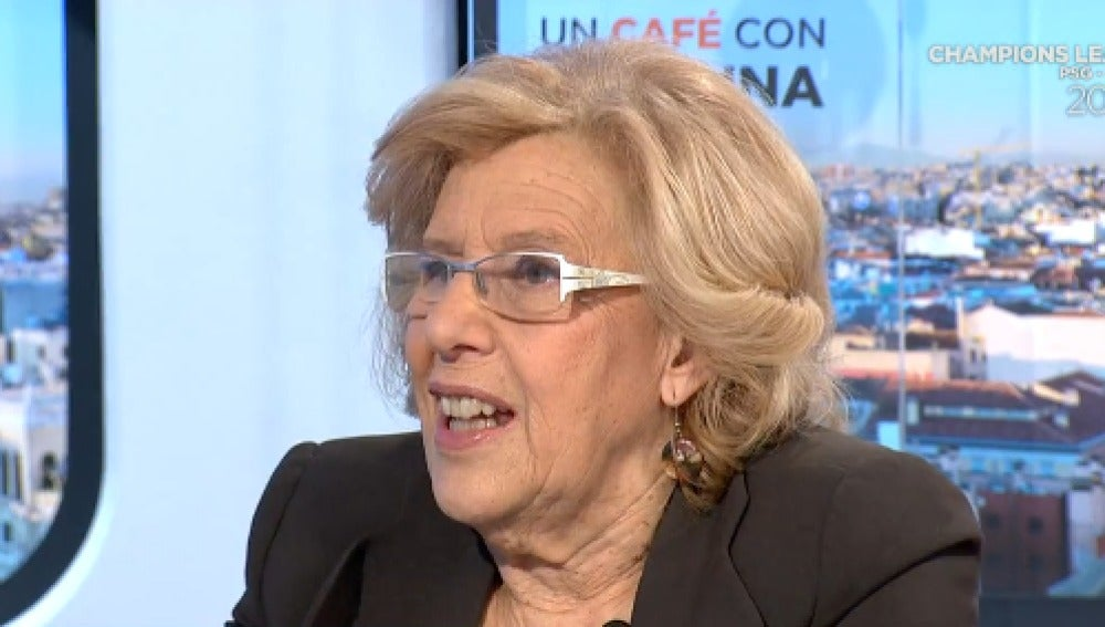 Manuela Carmena en Espejo Público