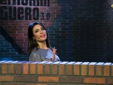 Pilar Rubio se atreve con el difícil efecto de la 'escalera del mimo'