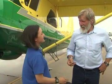 Frame 4.005931 de: Harrison Ford investigado por pilotar su avioneta supuestamente de forma temeraria