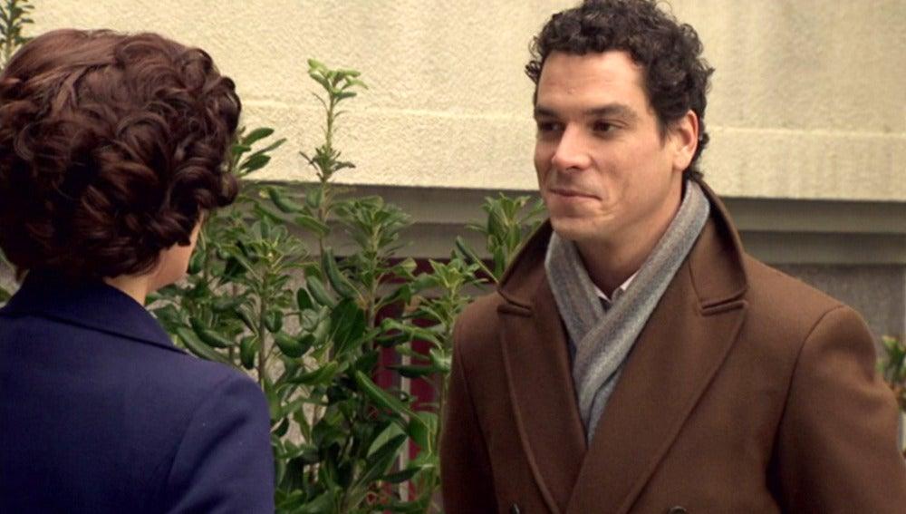 Marta y Rafael, un tenso encuentro tras la noticia de su maternidad
