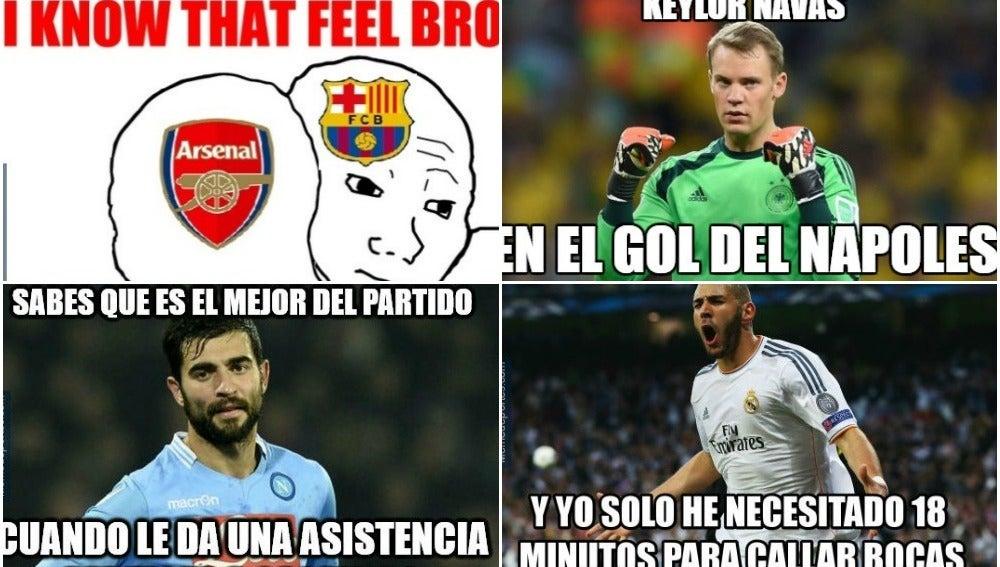 Memes de la jornada de Champions Total