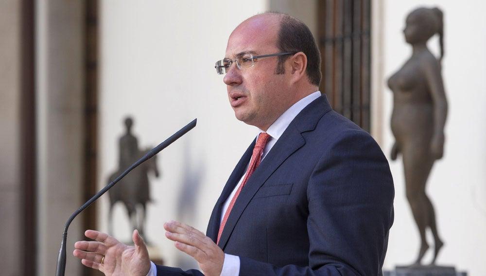 Pedro Antonio Sánchez en una imagen de archivo