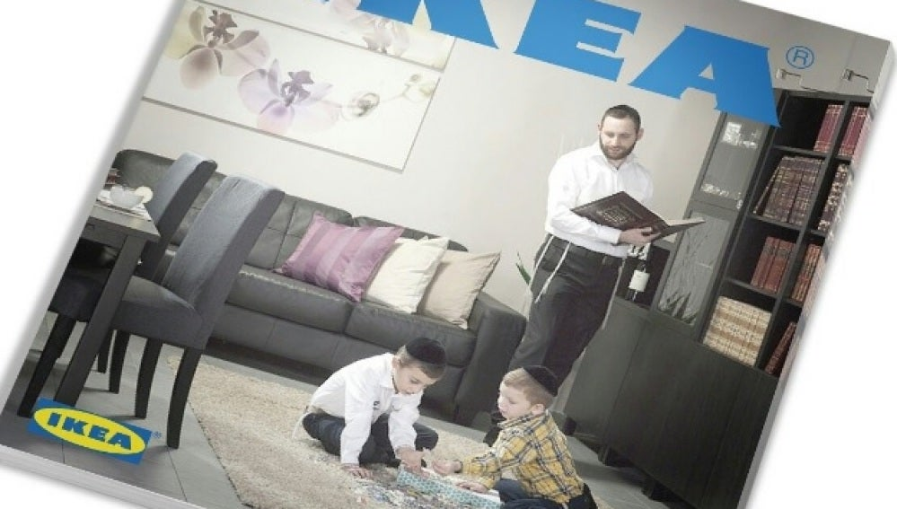 El catálogo de Ikea en Israel