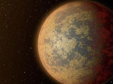 Recreación de un planeta próximo al Sistema Solar