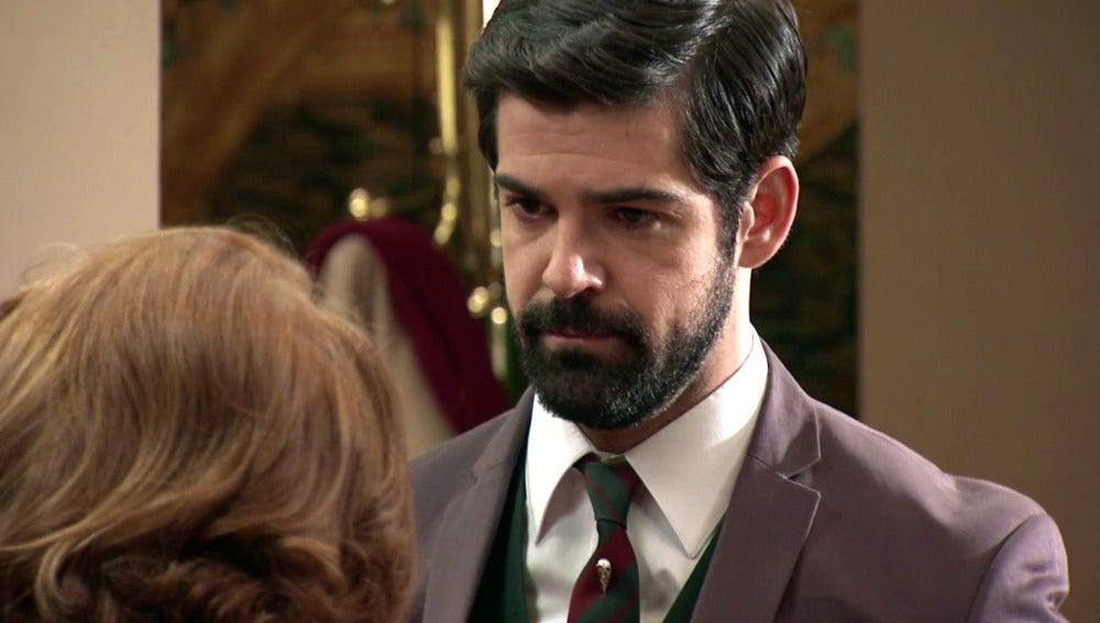 Alonso tiene claro que nunca se descubrirá que el hijo de Marta es de Rafael