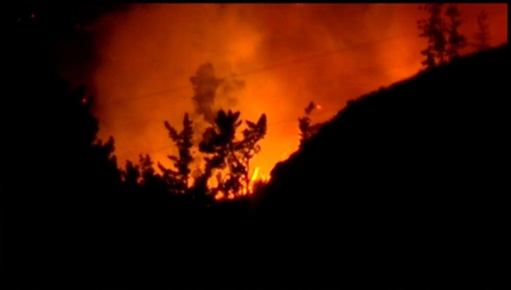 Frame 16.330995 de: Un muerto y más de mil evacuados en un incendio que se extiende por casi 2.000 hectáreas en Nueva Zelanda