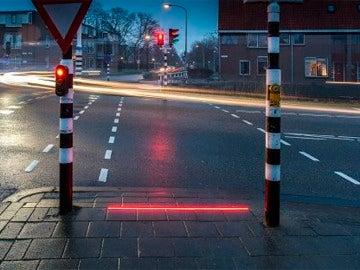 Semáforo de luces LEDs