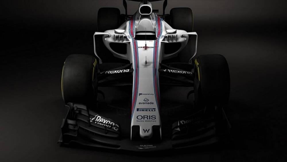 El nuevo W40 de Williams