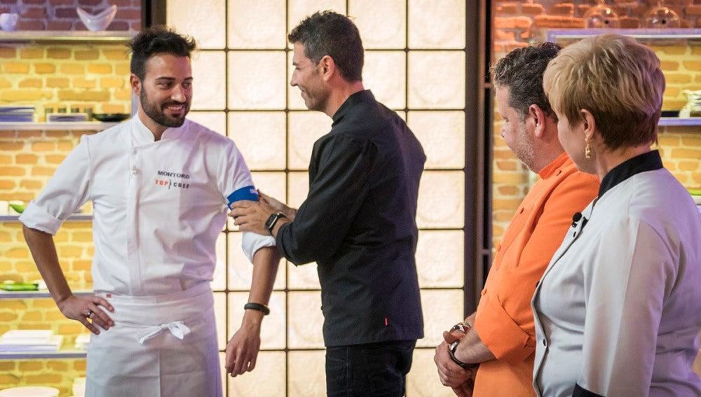 Montoro gana el primer brazalete de inmunidad de 'Top Chef'