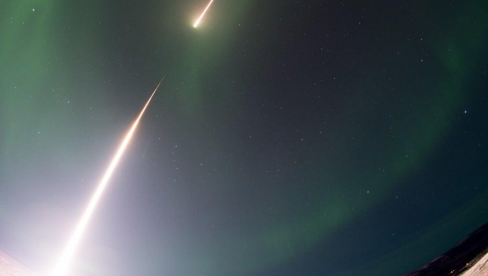 Lanzamiento cohete NASA