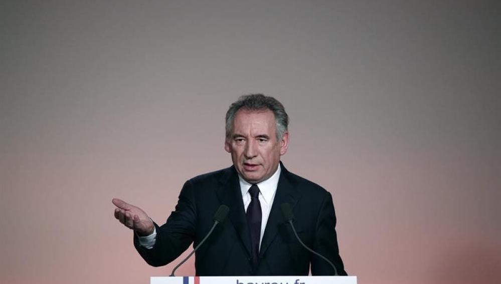El centrista François Bayrou