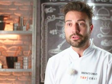 """Montoro: """"Cuando me dijeron que era concursante de 'Top chef', me hice un resumen de 90 páginas con recetas"""""""