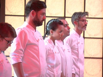 Tomás, Julio y Rakel se libran in extremis de la primera expulsión de 'Top Chef'