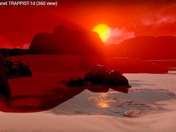 Así es uno de los exoplanetas descubiertos por la NASA