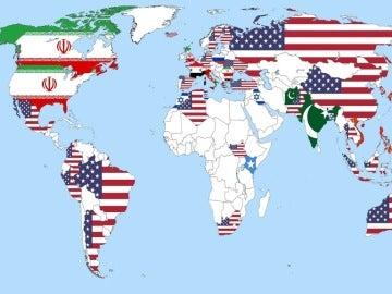 Los países más temidos por el resto de naciones