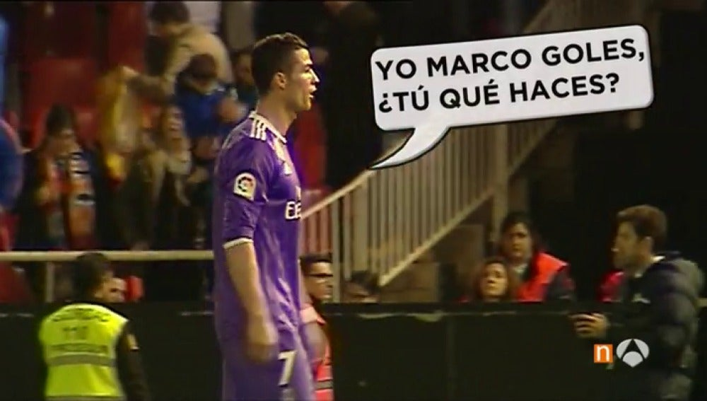Cristiano Ronaldo, tras el partido contra el Valencia