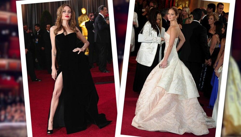 Los vestidos de los Oscar