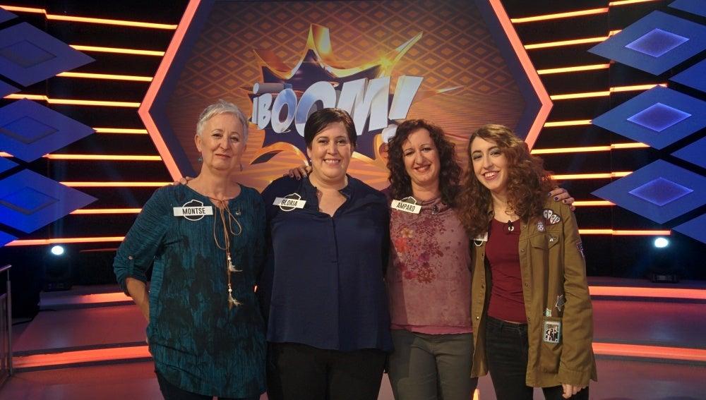Las 'Extremis' cumplen 100 programas en '¡Boom!'