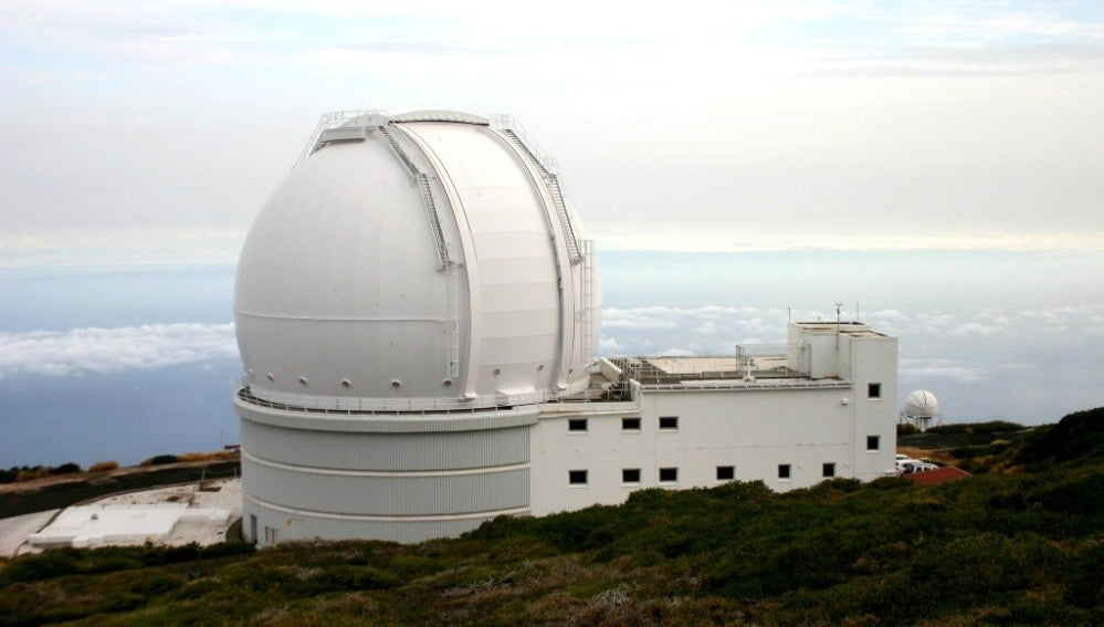 Telescopio William Hercschel en Canarias