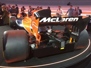 El difusor del McLaren-Honda MCL32, tapado