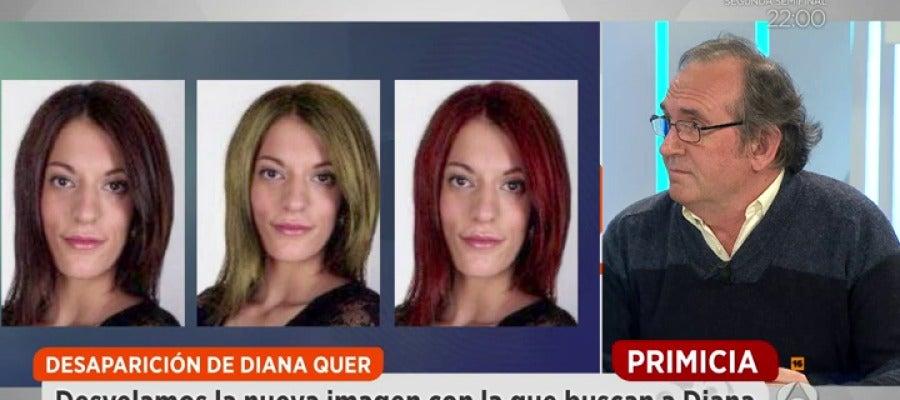 Antena 3 tv creen que diana quer pudo ser captada por for Espejo publico diana quer