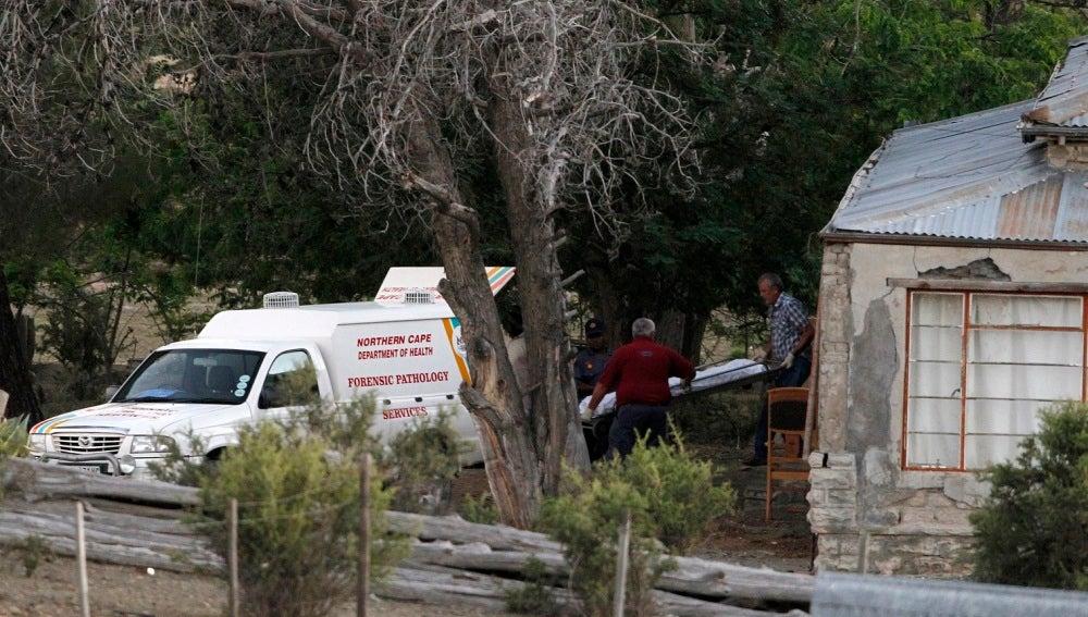 Una vivienda de Sudáfrica asaltada por ladrones