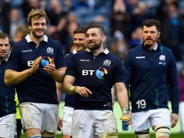 Escocia celebra una victoria