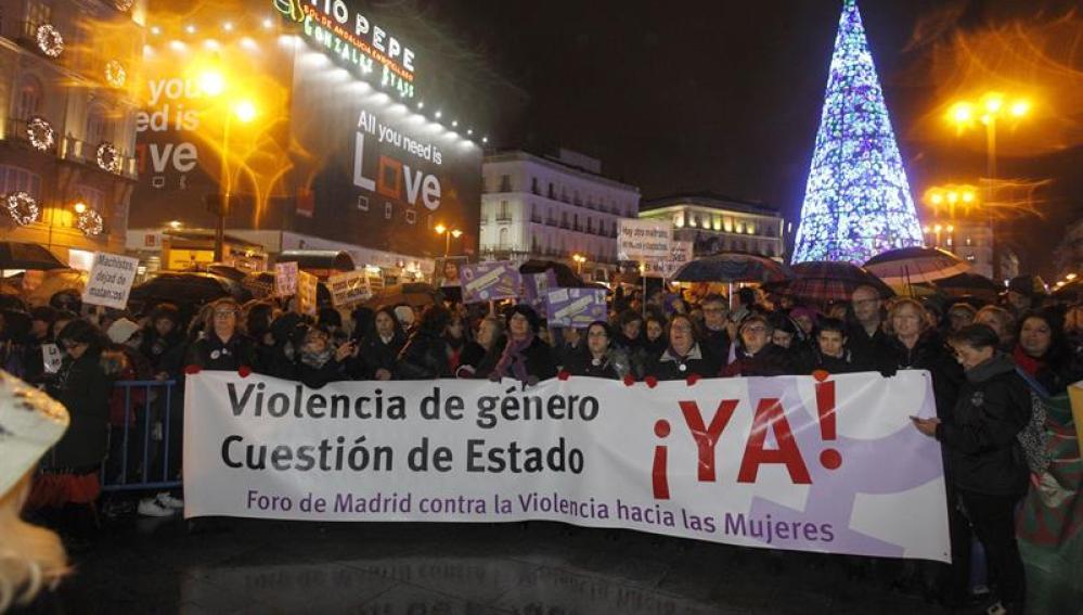 Huelga de hambre contra violencia de género