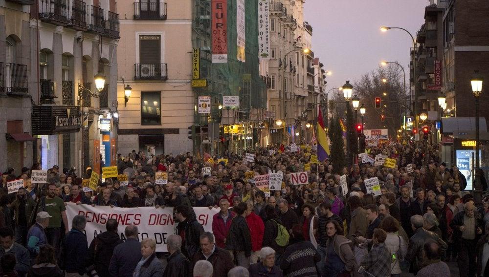 Marcha de la Dignidad en Madrid