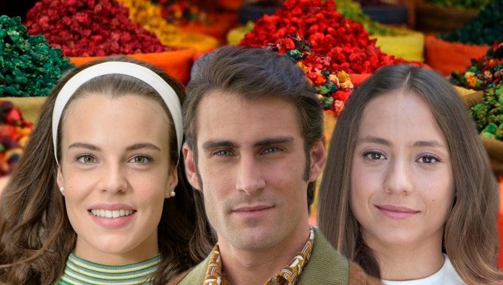 El mágico viaje de Blanca Parés, Fernando Guallar y Lucía Martín Abello a Marrakech