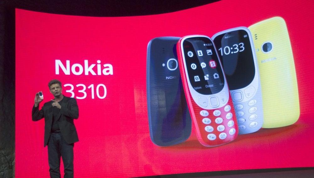 Así es el nuevo Nokia 3310, el móvil de los nostálgicos