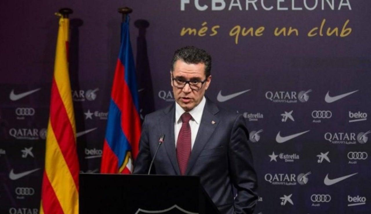Josep Vives, portavoz del FC Barcelona