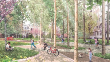 La nueva Plaza de España madrileña tendrá más espacio verde