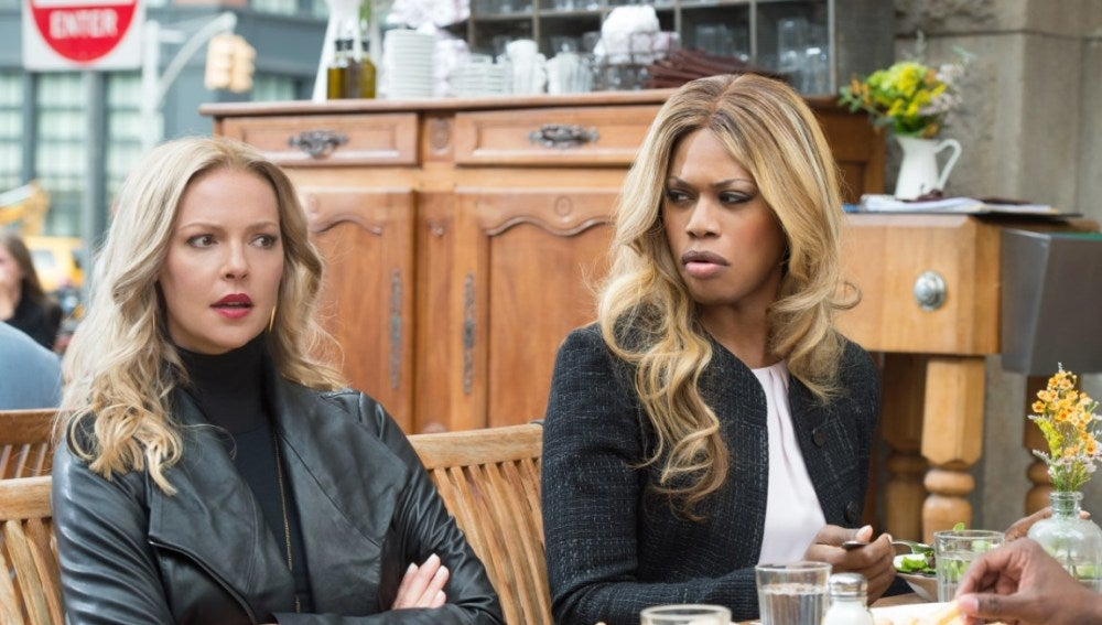 Katherine Heigl y Laverne Cox en 'Doubt'