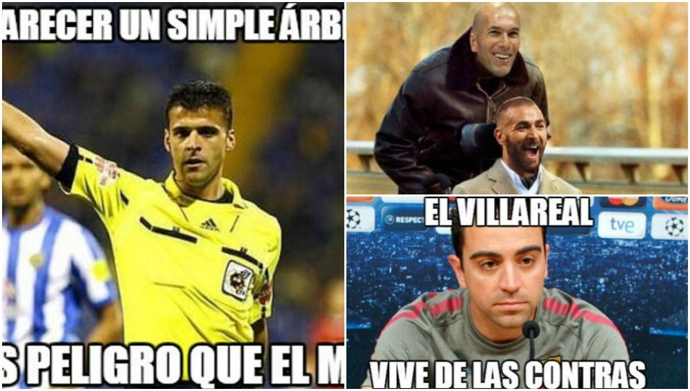 Memes del Villarreal-Real Madrid