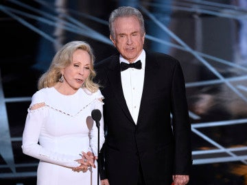Faye Dunaway y Warren Beatty