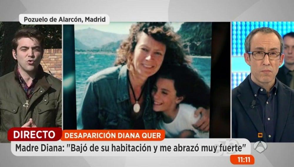 Antena 3 tv la madre de diana quer asegura que ella y su for Espejo publico diana quer