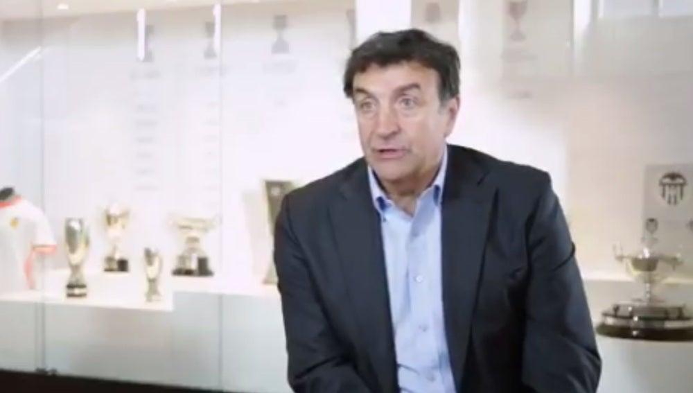Alesanco, nuevo director deportivo del Valencia