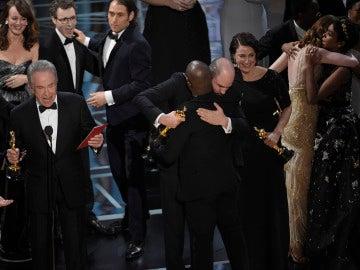 Warren Beatty en el momento más loco de la noche