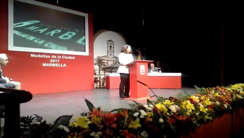Frame 6.229668 de: Pablo Ráez, medalla de la ciudad de Marbella por su legado en la donación de médula ósea