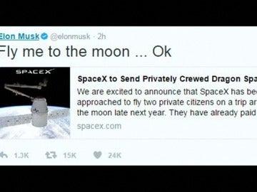 Frame 2.098961 de: SpaceX anuncia que hará el primer viaje espacial con dos turistas a finales de 2018