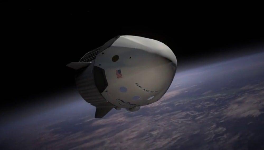 Frame 66.347995 de: SpaceX anuncia que hará el primer viaje espacial con dos turistas a finales de 2018