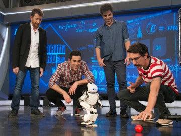 El ritmo eléctrico de los robots de 'El Hormiguero 3.0'