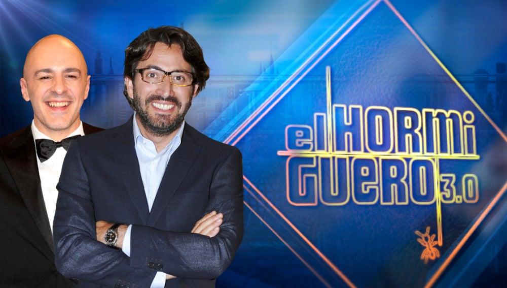 Los actores Roberto Álamo y Antonio Garrido vendrán a divertirse a 'El Hormiguero 3.0'