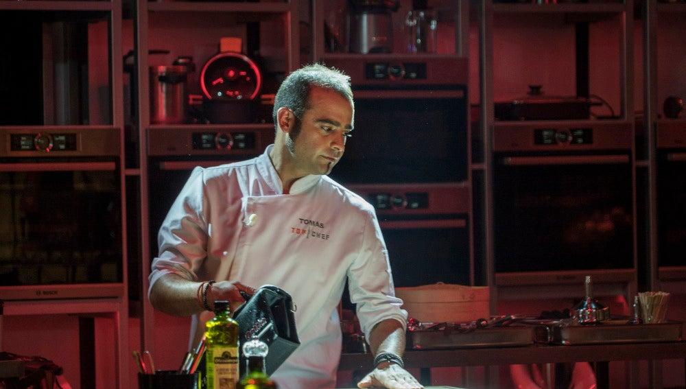 Tomás abandona las cocinas de 'Top Chef' con un gran plato