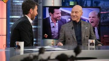 """Patrick Stewart, sobre Hugh Jackman: """"Es un gran compañero y queridísimo amigo mío"""""""