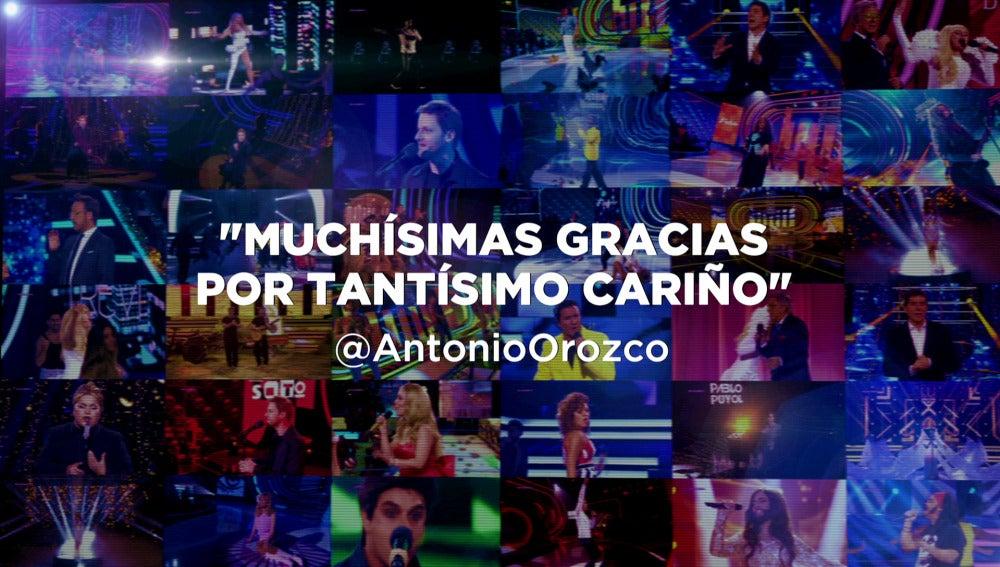 Antonio Orozco, Pastora Soler y Anastacia, entre los artistas expectantes ante la gran final de 'Tu cara me suena'
