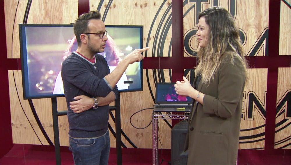 """Lorena Gómez ante su imitación como Rocío Jurado: """"Voy a salir a por todas"""""""