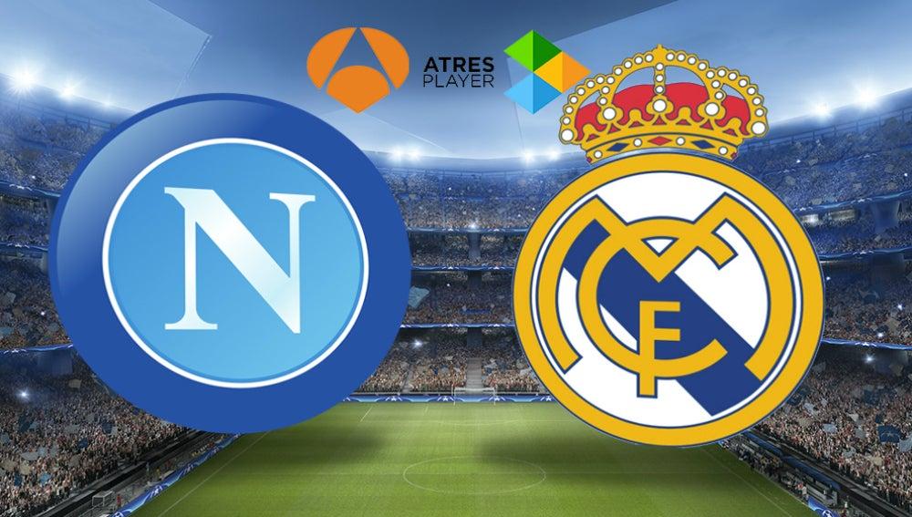 Nápoles-Real Madrid en Atresmedia