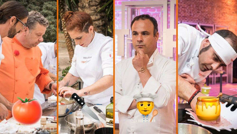 Personajes galácticos, rapapolvos y lágrimas, los momentazos del tercer programa de 'Top Chef'